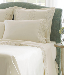 Finley 300 tc percale, 100% organic cotton sheets