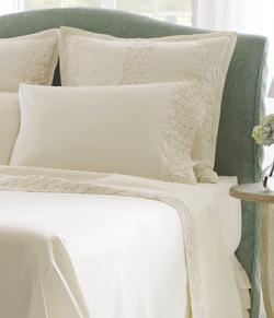 Finley 300 tc percale, 100% organic cotton sheets