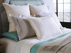 Fountain Bedding with Parasol Linen European Shams