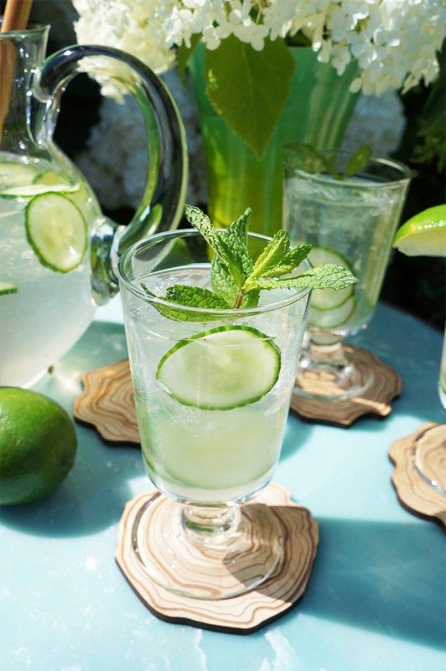 Coconut Citrus Mint Cooler